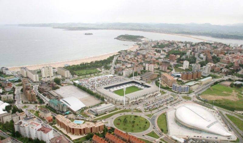 Estadio de El Sardinero en Santander