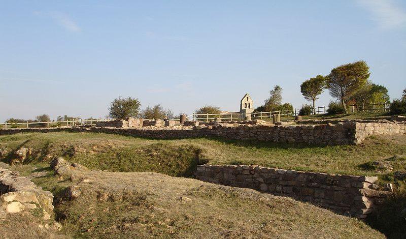 Los restos romanos de Juliobriga en Cantabria