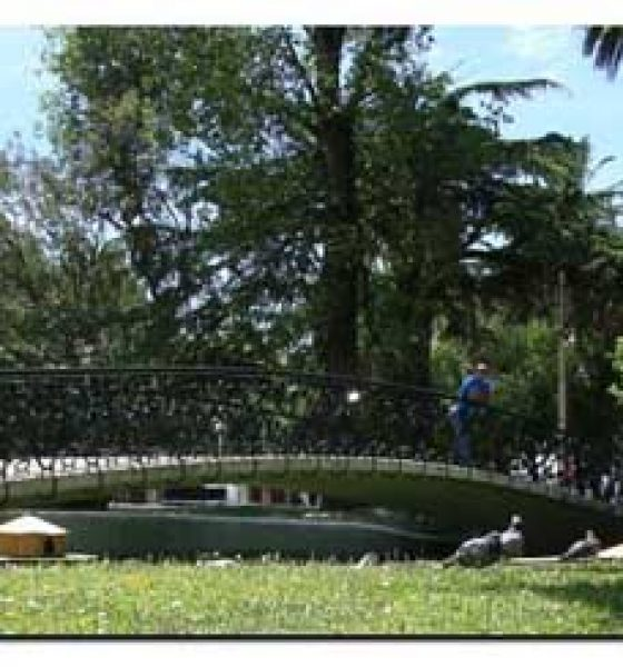 De paseo por los Jardines de Pereda en Santander