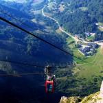 De paseo por Fuente Dé en los Picos de Europa