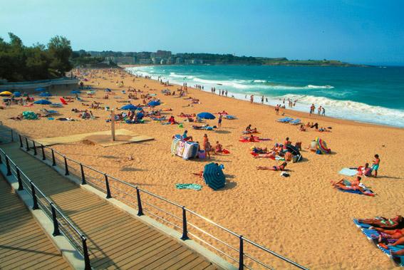 La Playa de la Concha, rinc�n para perderse en Santander