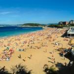 La Playa del Sardinero en Santander