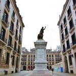 Plaza de Pedro Velarde, corazón de Santander