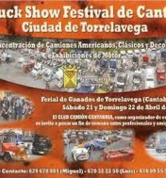 El III Truck Show Festival de Torrelavega